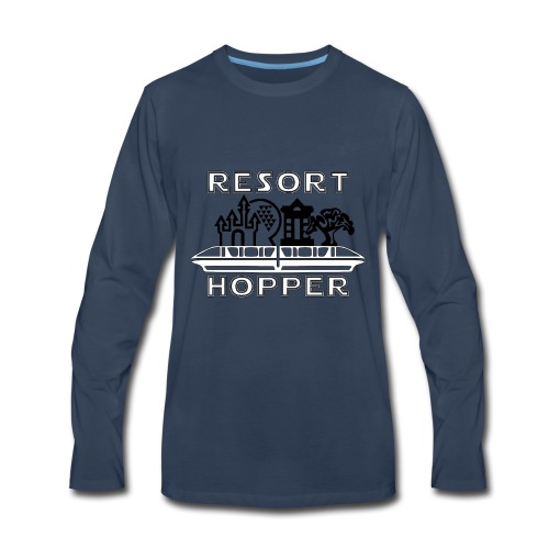Resort Hopper Logo - Men's Premium Long Sleeve T-Shirt