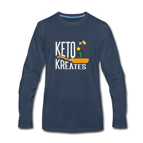 Keto Kreates - Men's Premium Long Sleeve T-Shirt
