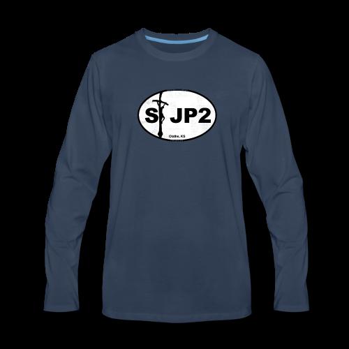 St JP2 Logo - Men's Premium Long Sleeve T-Shirt