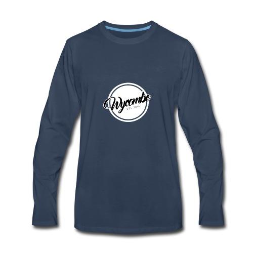WYCOMBE Badge - Men's Premium Long Sleeve T-Shirt