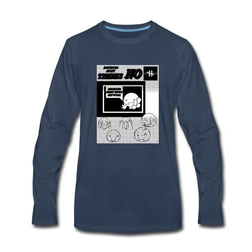 BRIGHTER SIGHT NEWS NETWORK - Men's Premium Long Sleeve T-Shirt