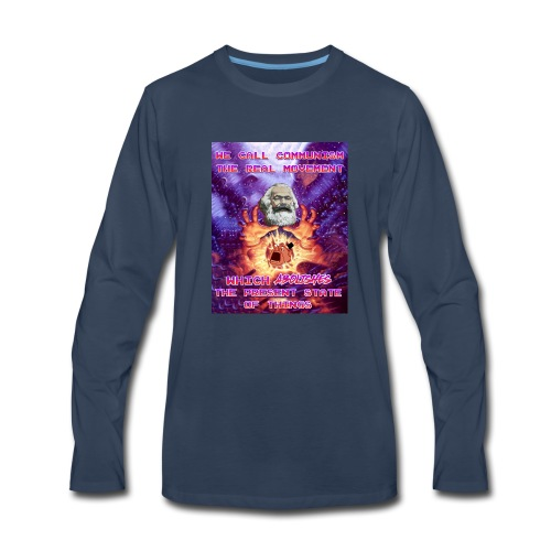 The present state of things - Men's Premium Long Sleeve T-Shirt