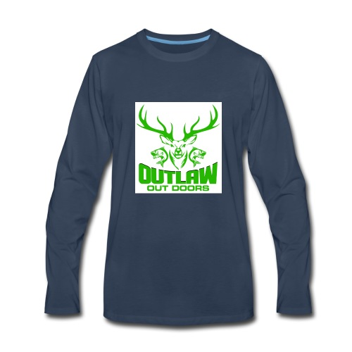 OUTLAWOUTDOORS Opt1 - Men's Premium Long Sleeve T-Shirt
