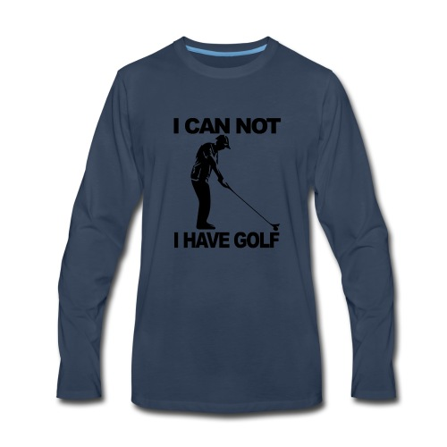 Golf Design - Men's Premium Long Sleeve T-Shirt