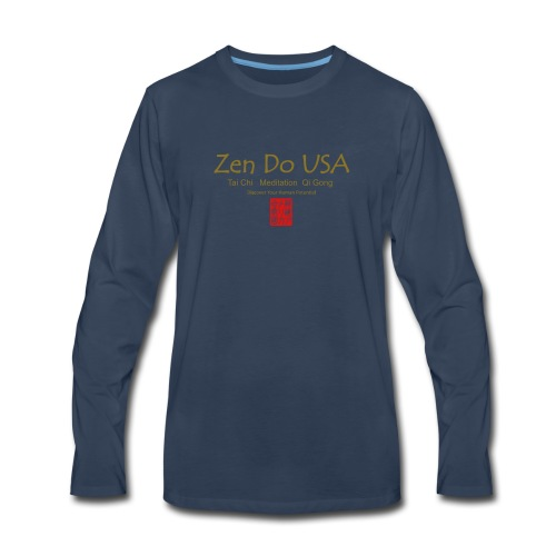 Zen Do USA - Men's Premium Long Sleeve T-Shirt
