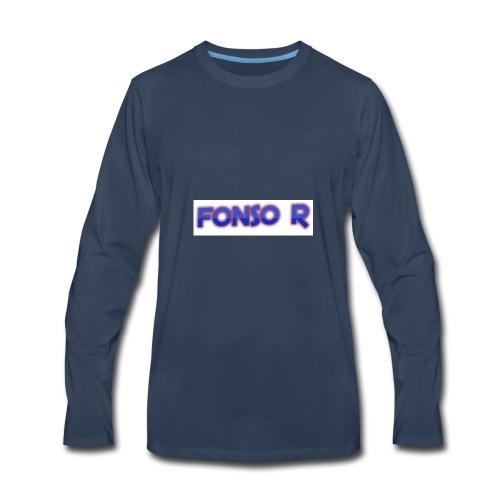 Fonso r merch store - Men's Premium Long Sleeve T-Shirt