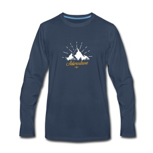 Adventure T-shirts Tees and Products - Men's Premium Long Sleeve T-Shirt