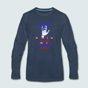 Spock for President - Men's Premium Long Sleeve T-Shirt