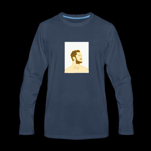 Fan art of Dan Reynolds - Men's Premium Long Sleeve T-Shirt