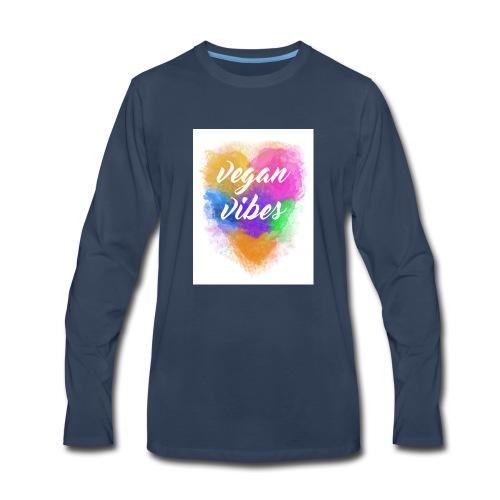 Vegan Vibes - Men's Premium Long Sleeve T-Shirt
