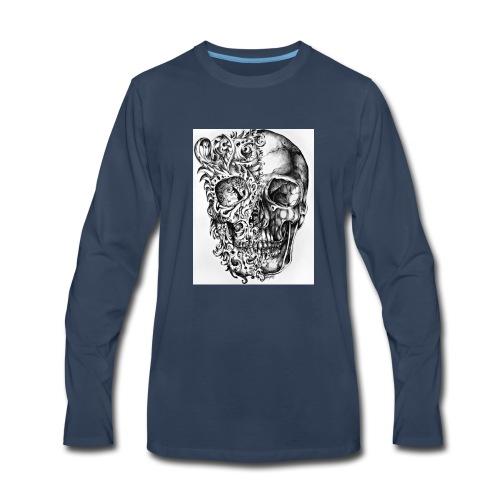 skull of madness - Men's Premium Long Sleeve T-Shirt