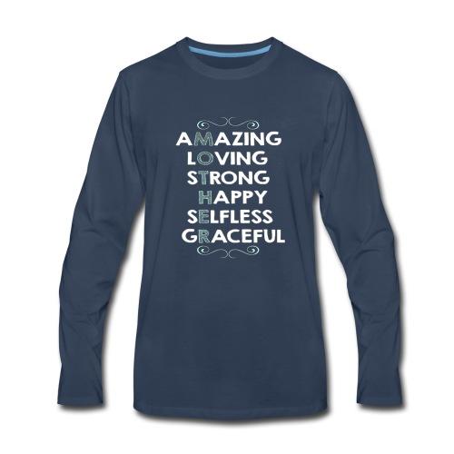 mother2 - Men's Premium Long Sleeve T-Shirt
