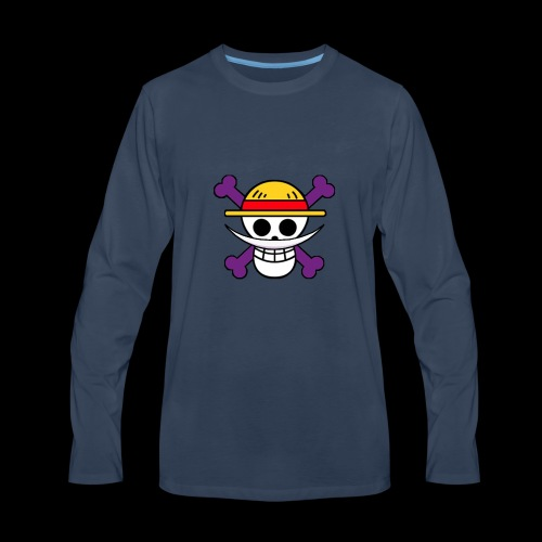 One Piece - Shirohigi - Men's Premium Long Sleeve T-Shirt