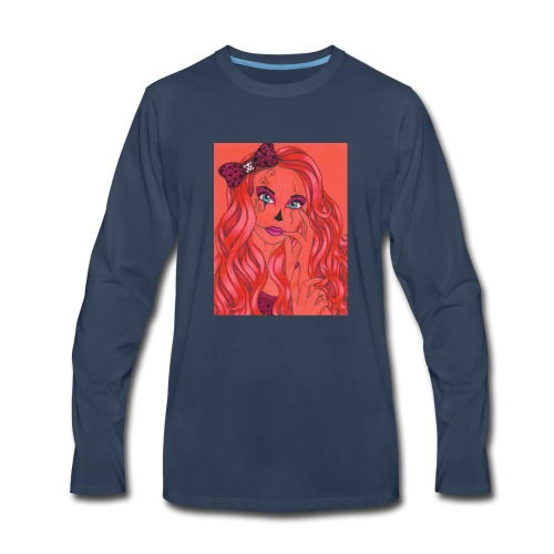 lady of the night - Men's Premium Long Sleeve T-Shirt