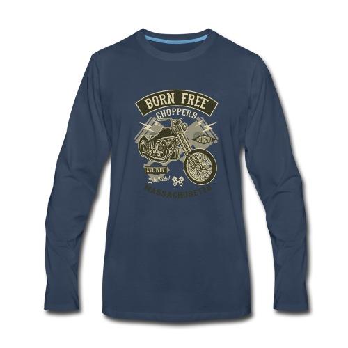 Born Free Choppers - Men's Premium Long Sleeve T-Shirt