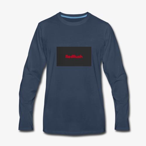red rush - Men's Premium Long Sleeve T-Shirt