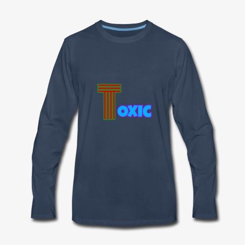 Toxic Merch - Men's Premium Long Sleeve T-Shirt