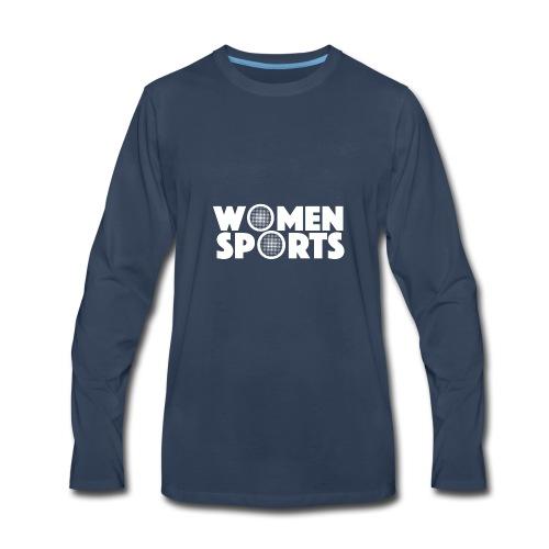 WomenSports   BRANDED - Men's Premium Long Sleeve T-Shirt