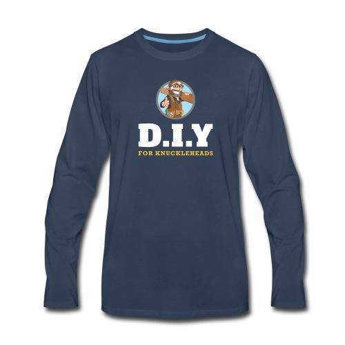 DIY For Knuckleheads Logo. - Men's Premium Long Sleeve T-Shirt