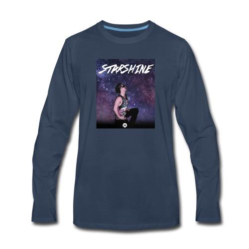 Starshine Single Design - Men's Premium Long Sleeve T-Shirt