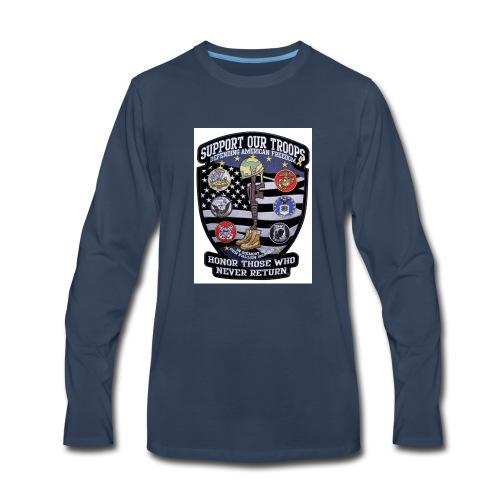 Troop Support - Men's Premium Long Sleeve T-Shirt