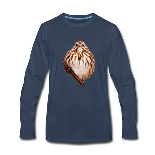 Grumpy Bird - Men's Premium Long Sleeve T-Shirt