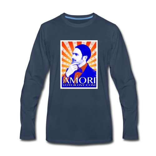 Amori_poster_1d - Men's Premium Long Sleeve T-Shirt