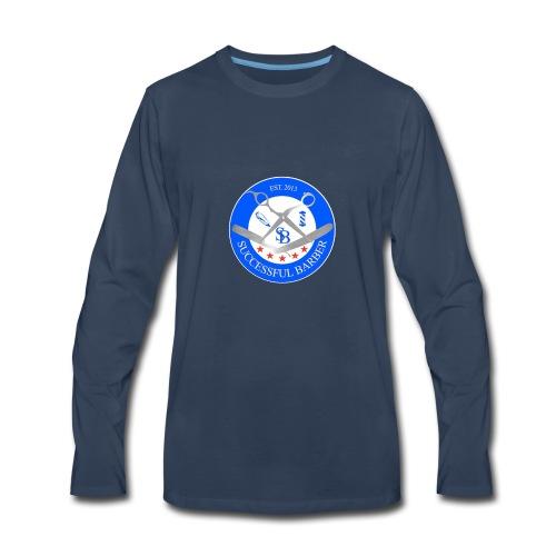 Successful Barber Seal - Men's Premium Long Sleeve T-Shirt