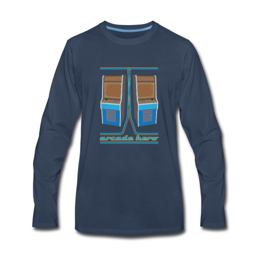 arcadehero - Men's Premium Long Sleeve T-Shirt