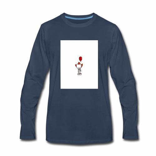 Crazy clown - Men's Premium Long Sleeve T-Shirt