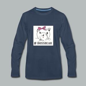 #BossBear - Men's Premium Long Sleeve T-Shirt