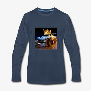 Rocketmasters logo - Men's Premium Long Sleeve T-Shirt