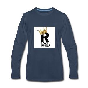 Royal Records Entertainment - Men's Premium Long Sleeve T-Shirt