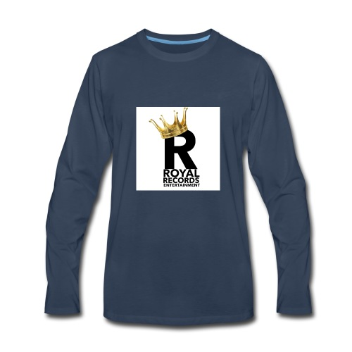 Royal Records Entertainment - Men's Premium Long Sleeve T-Shirt