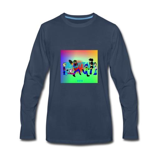 Bendytale phone case - Men's Premium Long Sleeve T-Shirt