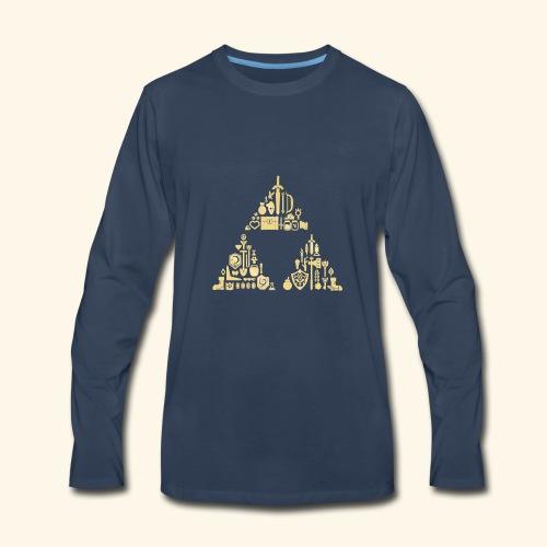 Zelda Triforce - Men's Premium Long Sleeve T-Shirt