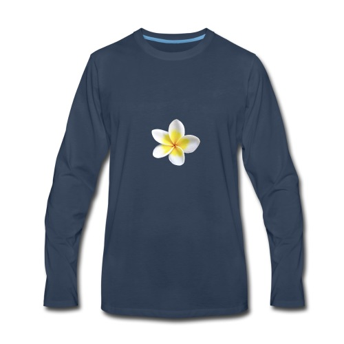 Plumeria Collection - Men's Premium Long Sleeve T-Shirt