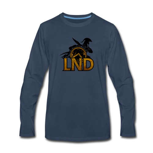 LND Logo Design - Men's Premium Long Sleeve T-Shirt
