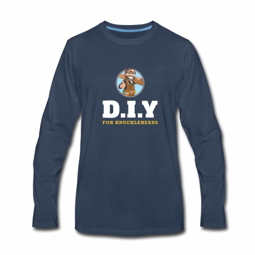 DIY For Knuckleheads Logo. - Men's Premium Long Sleeve T-Shirt