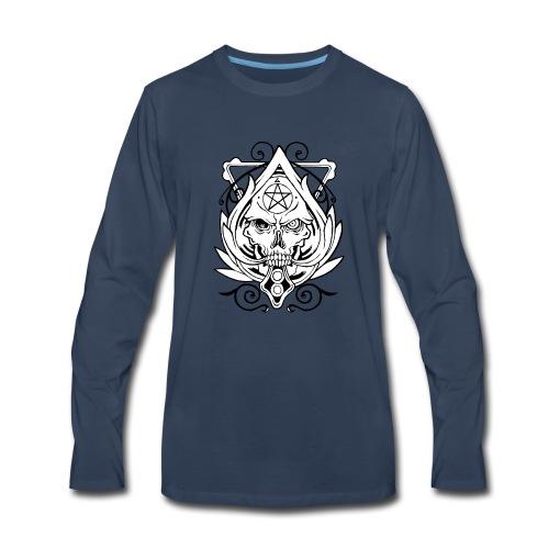 Skull Devil Inside - Men's Premium Long Sleeve T-Shirt