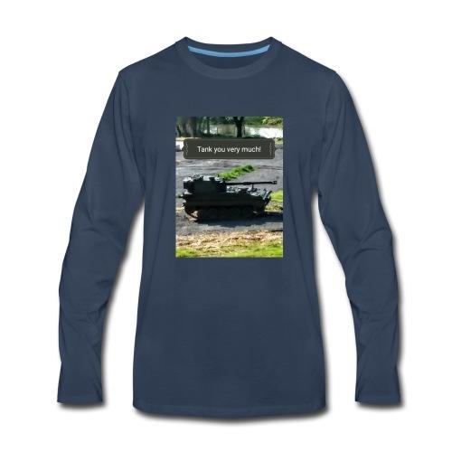 Tank you shirt. - Men's Premium Long Sleeve T-Shirt