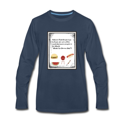 Fathers Who cook - Men's Premium Long Sleeve T-Shirt