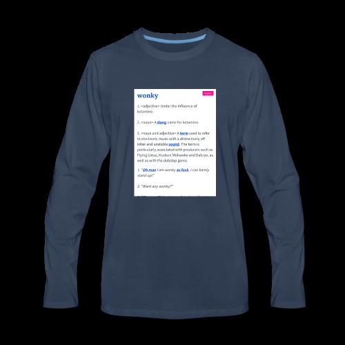 Stay Wonky - Men's Premium Long Sleeve T-Shirt