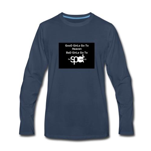 SpotTshirtBlack - Men's Premium Long Sleeve T-Shirt
