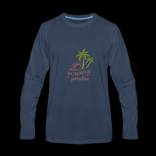 design-10 - Men's Premium Long Sleeve T-Shirt