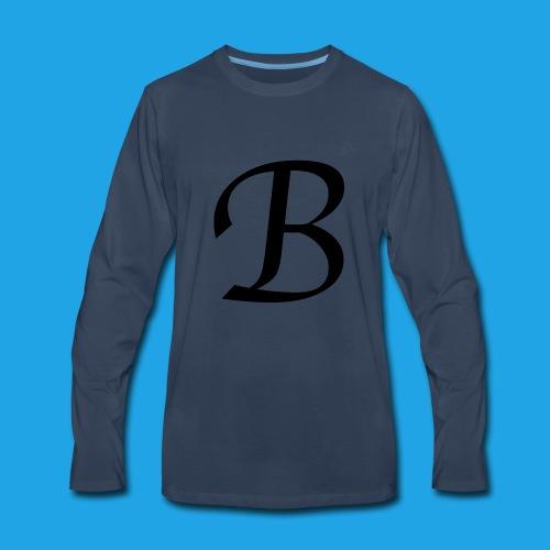 Letter B - Men's Premium Long Sleeve T-Shirt