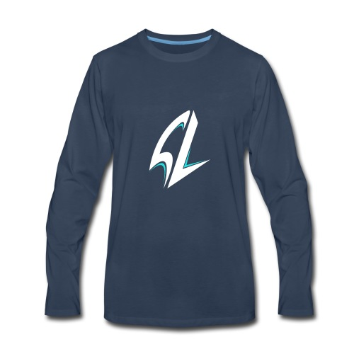 blue - Men's Premium Long Sleeve T-Shirt