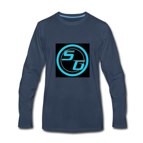 Sniperghostk Logo - Men's Premium Long Sleeve T-Shirt