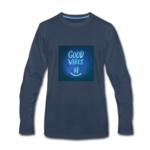 Good Vibes -CrownFarri.Productions - Men's Premium Long Sleeve T-Shirt