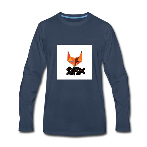 TheSlyFox0326 Official logo - Men's Premium Long Sleeve T-Shirt